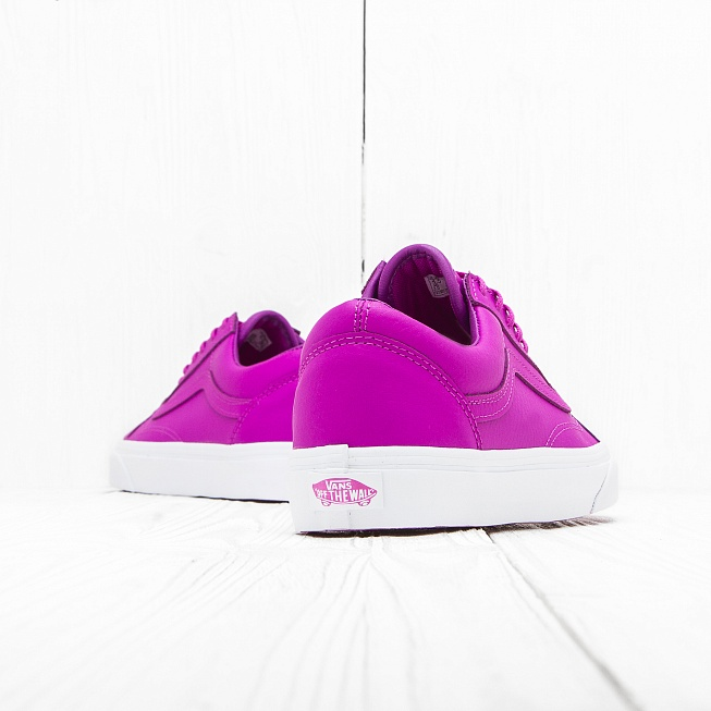 Кеды Vans OLD SKOOL Neon Purple White. Vans 58655e60d007d