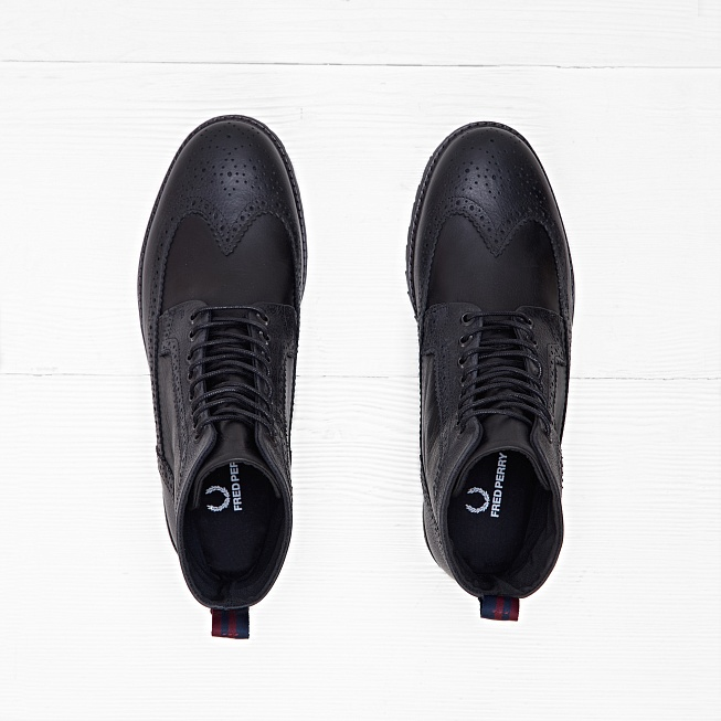 Ботинки Fred Perry NORTHGATE Black - Фото 3