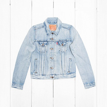 Куртка Levi's THE TRUCKER Blue Sounds