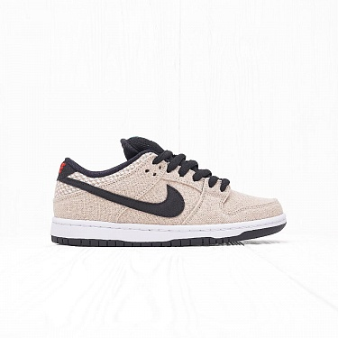 "Кроссовки Nike SB DUNK LOW PRM ""HEMP"" Bamboo/Black/White"