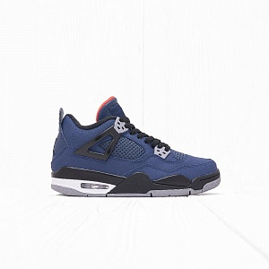 Кроссовки Jordan AIR JORDAN 4 RETRO WINTER (BG) Loyal Blue/White-Habanero Red-Black