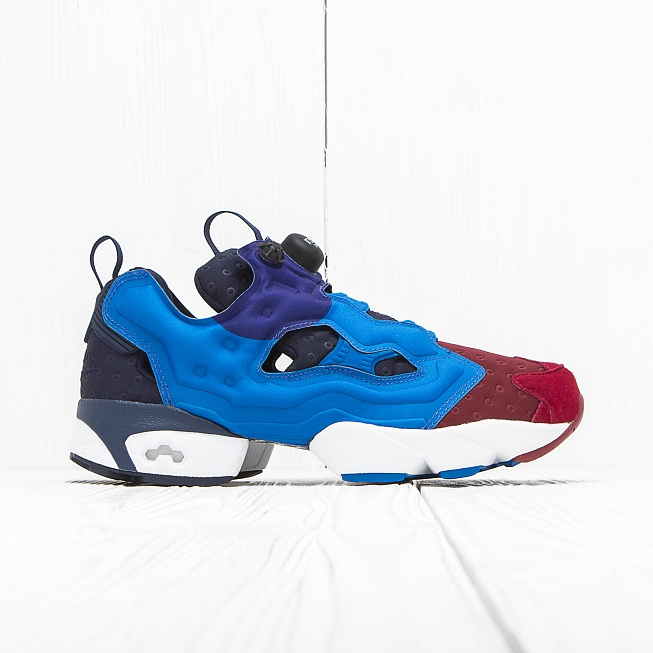 Кроссовки Reebok INSTA PUMP FURY ASYM Blue/Black/Red
