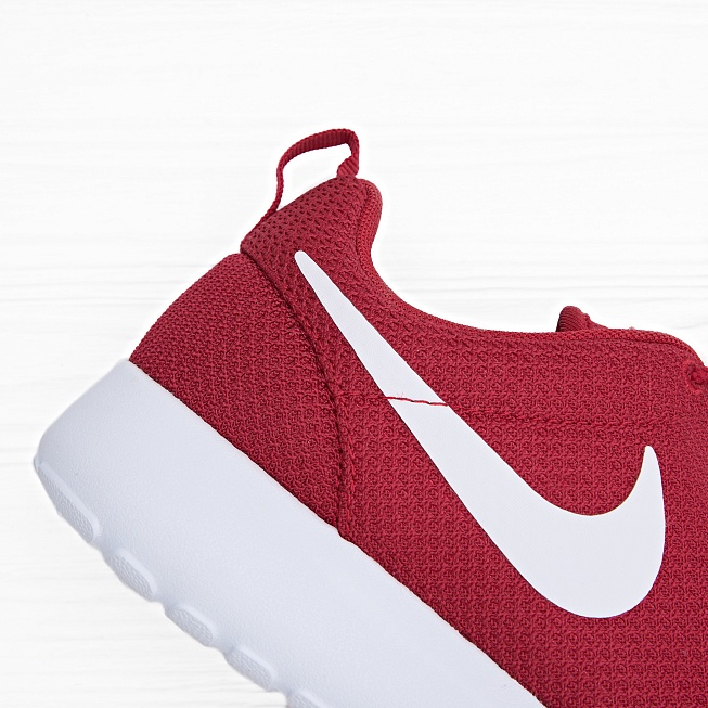 Кроссовки Nike ROSHE ONE Gym Red/White-Black - Фото 3