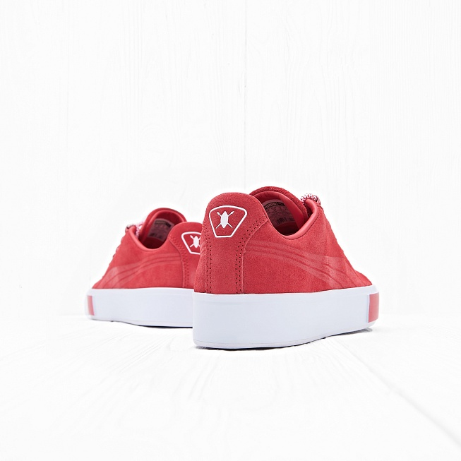 Кроссовки Puma x DP COURT PLATFORM S High Risk Red - Фото 1