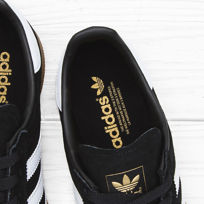 Кроссовки Adidas MÜNCHEN Core Black/Footwear White/Gum - Фото 5