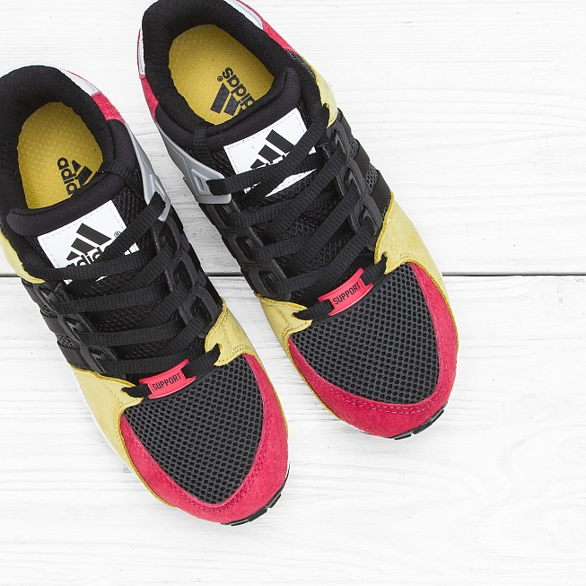 Кроссовки Adidas EQUIPMENT RUNNING SUPPORT Lush Pink/Core Black/Vintage White - Фото 3