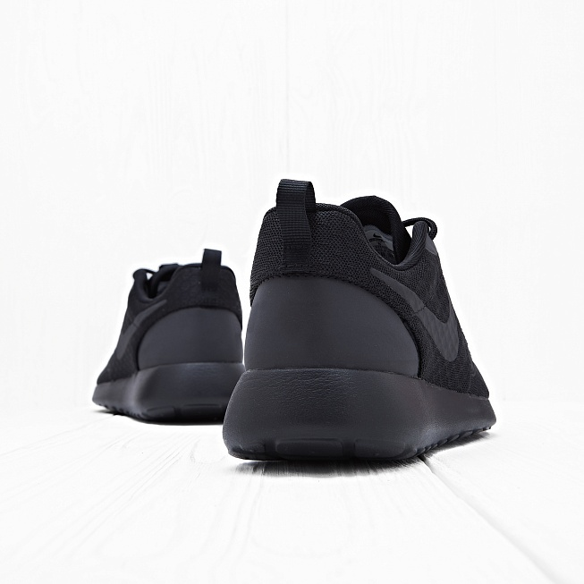 Кроссовки Nike ROSHE ONE HYP Black - Фото 1