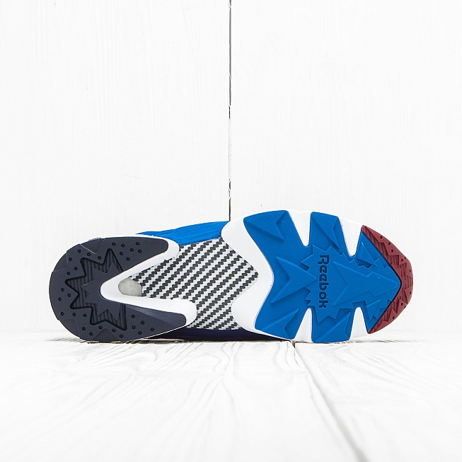 Кроссовки Reebok INSTA PUMP FURY ASYM Blue/Black/Red - Фото 3