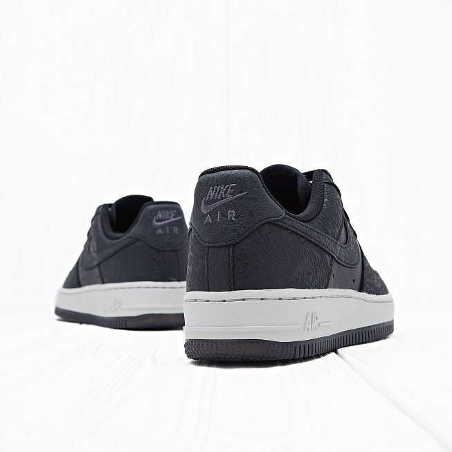 Кроссовки Nike W AIR FORCE 1 07 PRM ESS Black/Black-Light Bone - Фото 3