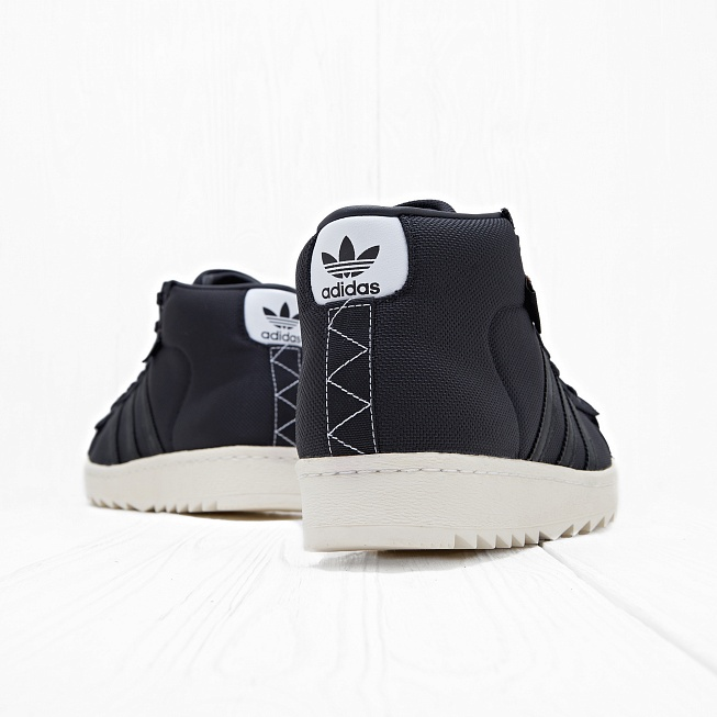 Кроссовки Adidas PRO MODEL 80S CORDURA Ftwr White/Core Black/Unity Orange F16 - Фото 2