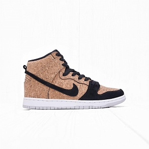 Кроссовки Nike SB DUNK HIGH PRM SB ''Cork'' Black/Hazelnut/White