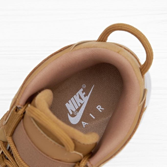 Кроссовки Nike AIR MORE UPTEMPO 96 PRM (FLAX) Flax/Flax-Gum Light Brown - Фото 3