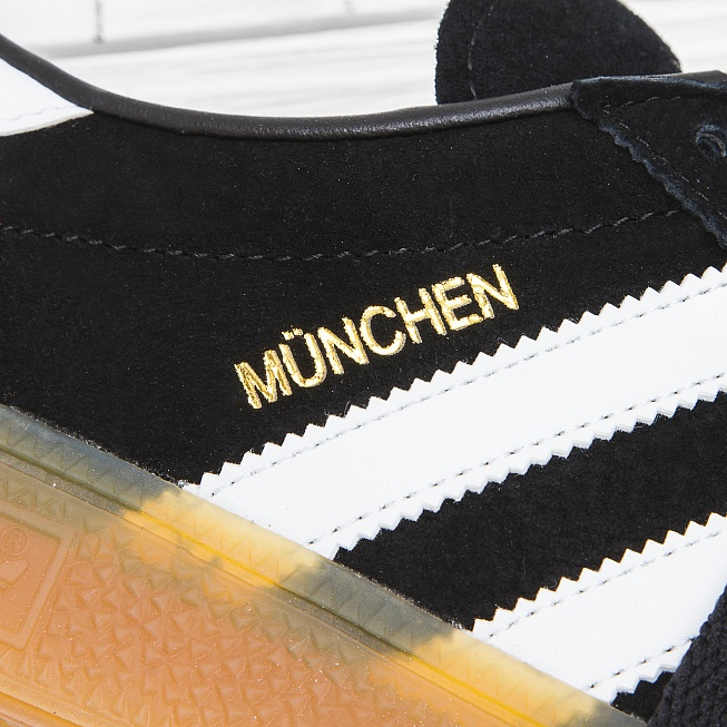 Кроссовки Adidas MÜNCHEN Core Black/Footwear White/Gum - Фото 7
