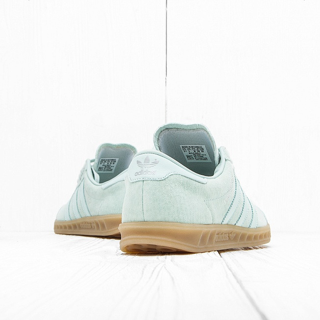 Кроссовки Adidas HAMBURG Vapour Green/Ice Mint/Gum 4 - Фото 2