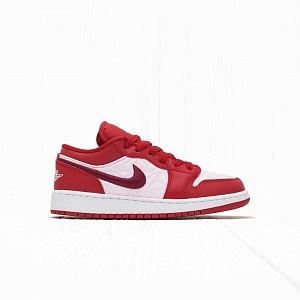Кроссовки Jordan AIR JORDAN 1 LOW SE (GS) Deep Red Sail-Gym Red