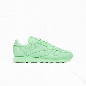 Кроссовки Reebok x Spirit CLASSIC LEATHER Mint Green/Mint Green/White