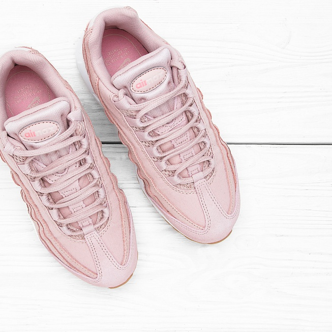 Кроссовки Nike W AIR MAX 95 PRM Pink Oxford/Pink Oxford-Bright - Фото 3