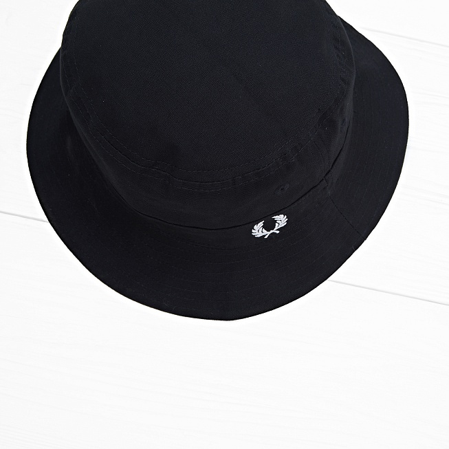 Панама Fred Perry REVERSIBLE FISHERMAN Black - Фото 1