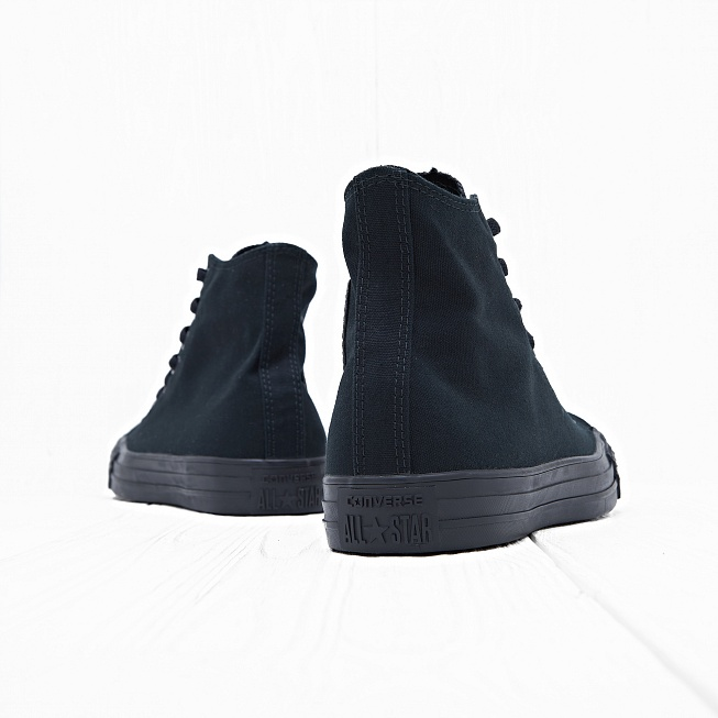 Кеды Converse CHUCK TAYLOR ALL STAR HI Black Monochro - Фото 2
