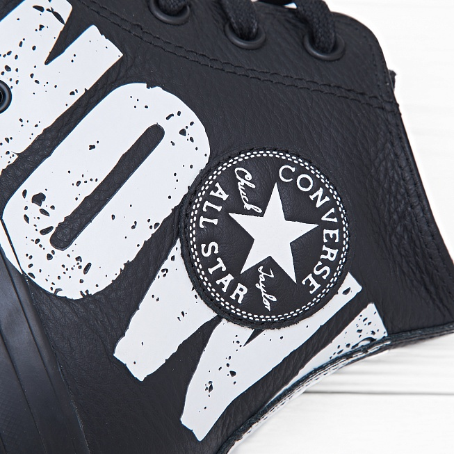 Кеды Converse CHUCK TAYLOR ALL STAR HI SEX PISTOLS Black/Print - Фото 5