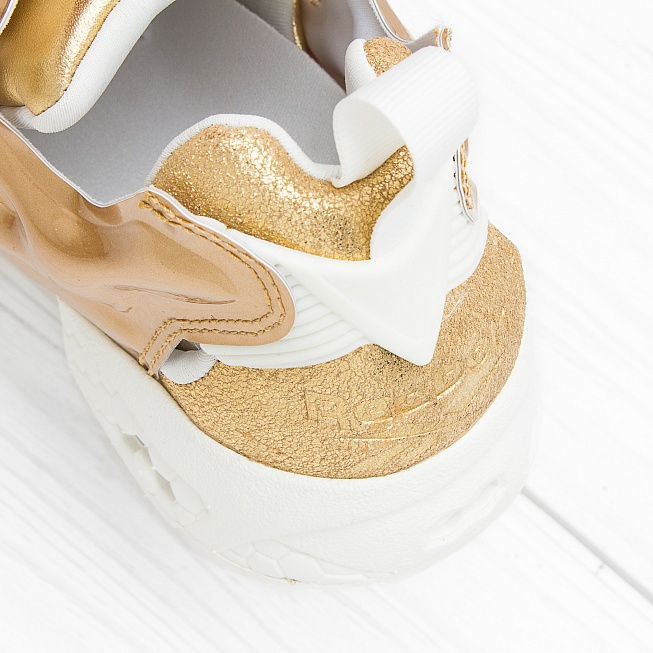 Кроссовки Reebok INSTA PUMP FURY CELEBRATE Reebok Brass/Chalk - Фото 6