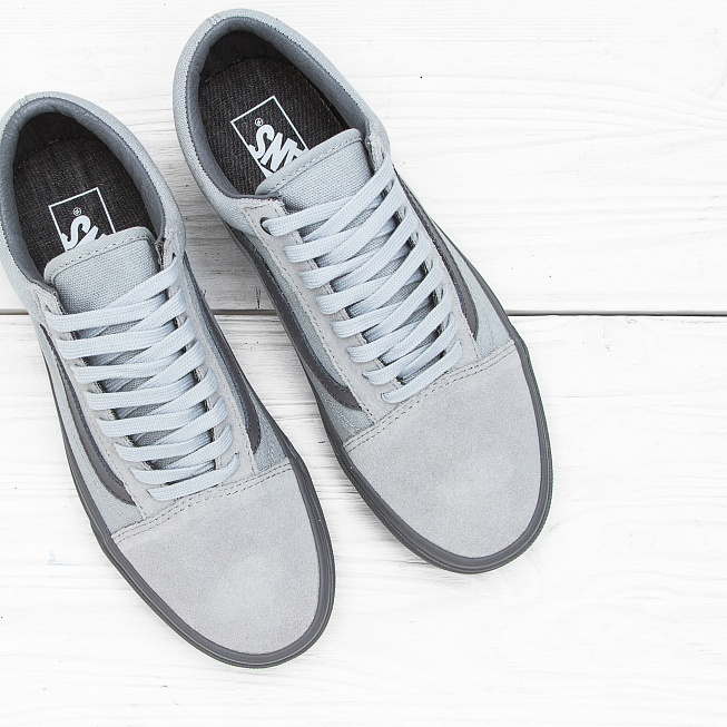 Кеды Vans OLD SKOOL (CD) High Rise/Pewter - Фото 3