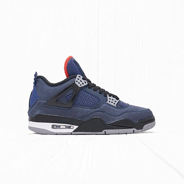 Кроссовки Jordan AIR JORDAN 4 RETRO WINTER Loyal Blue/White-Habanero Red-Black