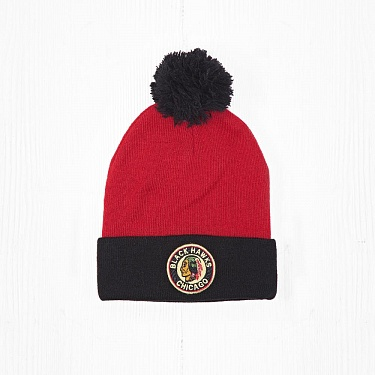 Шапка M&N NHL CHICAGO BLACKHAWKS Red/Black