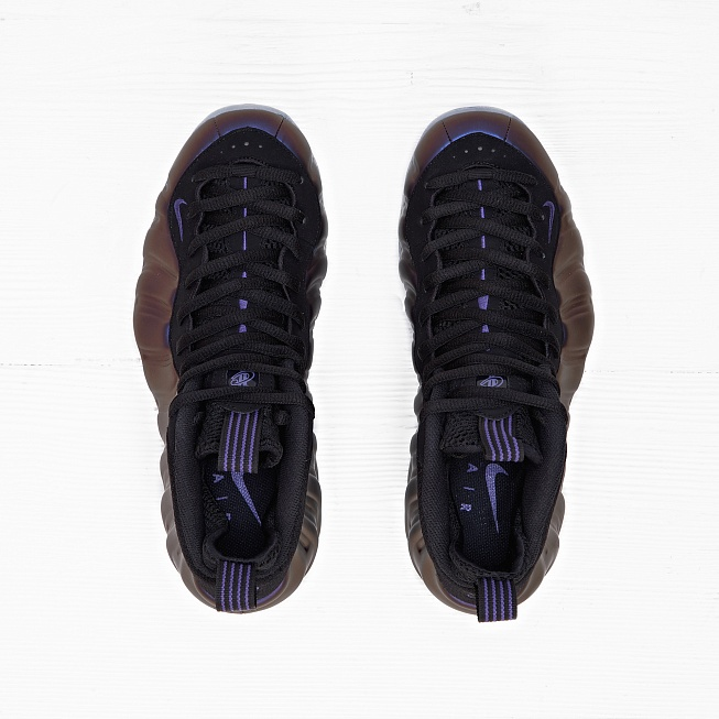 Кроссовки Nike AIR FOAMPOSITE ONE Eggplant Varsity Purple/Black - Фото 3