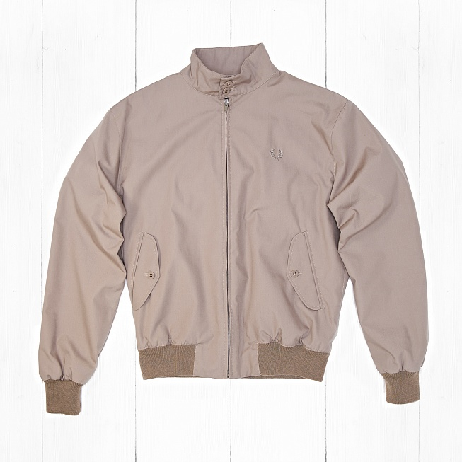 Куртка Fred Perry MADE IN ENGLAND HARRINGTON Stone
