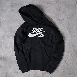Толстовка Nike SB ICON PO FLEECE Black/White