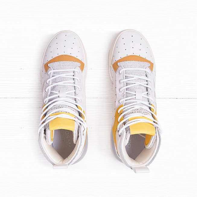 Кроссовки Adidas RIVALRY RM Running White/Crystal White/Cream White - Фото 3