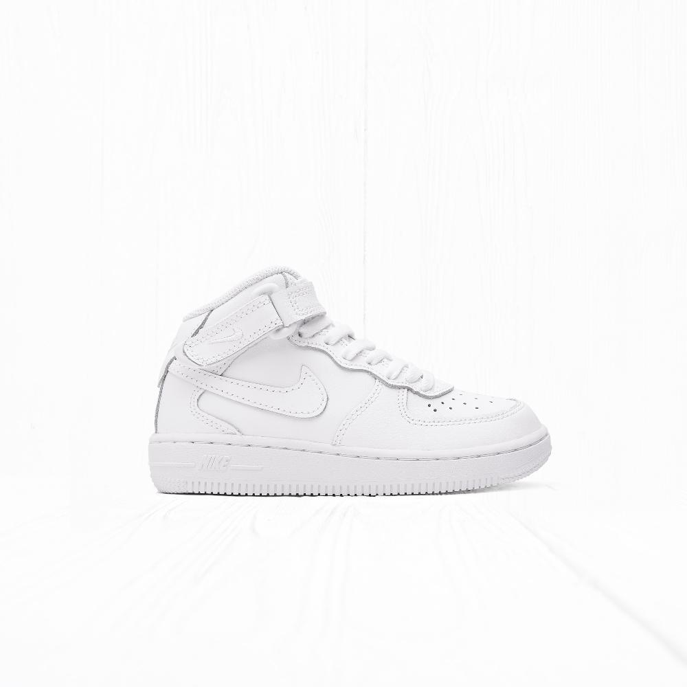 Кроссовки Nike AIR FORCE 1 MID (PS) White/White-White