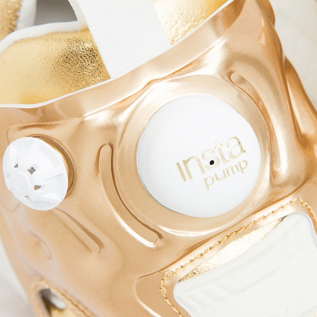 Кроссовки Reebok INSTA PUMP FURY CELEBRATE Reebok Brass/Chalk - Фото 5