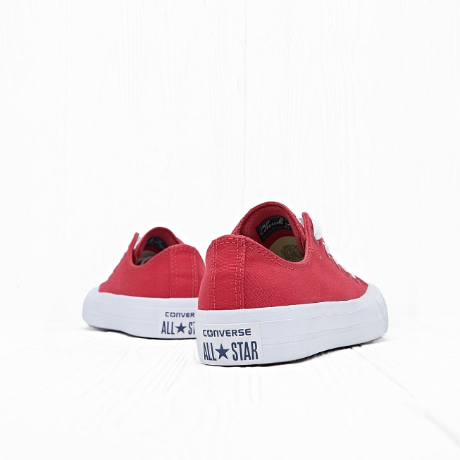 Кеды Converse CHUCK TAYLOR ALL STAR II LOW TOP Salsa Red/White - Фото 2