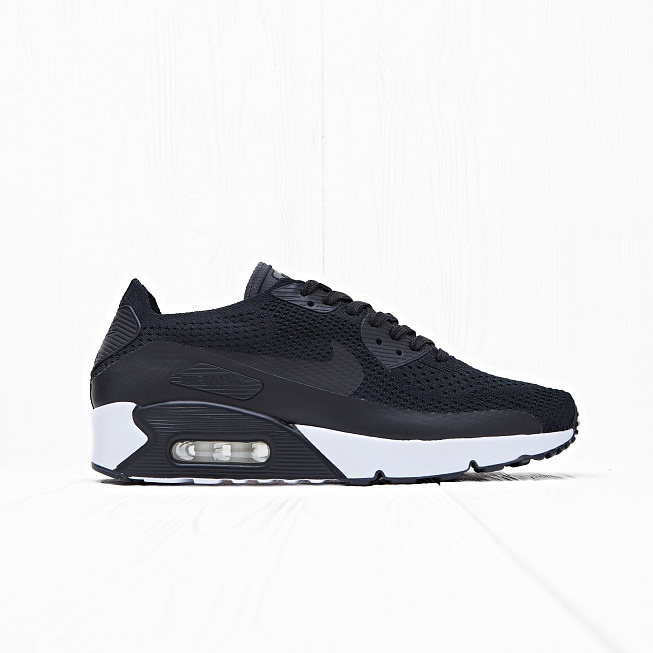Кроссовки Nike AIR MAX 90 ULTRA 2.0 FLYKNIT Black/Black-White