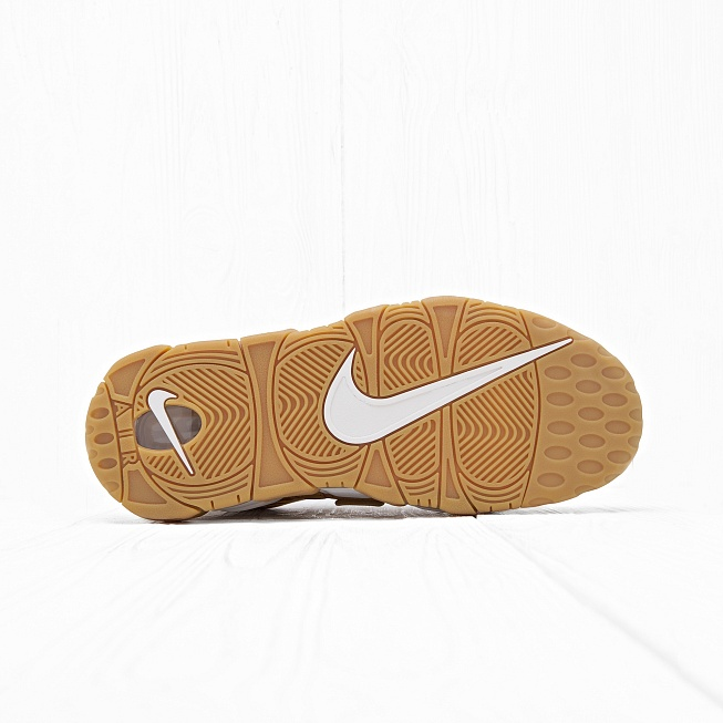Кроссовки Nike AIR MORE UPTEMPO 96 PRM (FLAX) Flax/Flax-Gum Light Brown - Фото 5