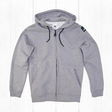 Толстовка Adidas EQT FULL ZIP Grey Heather