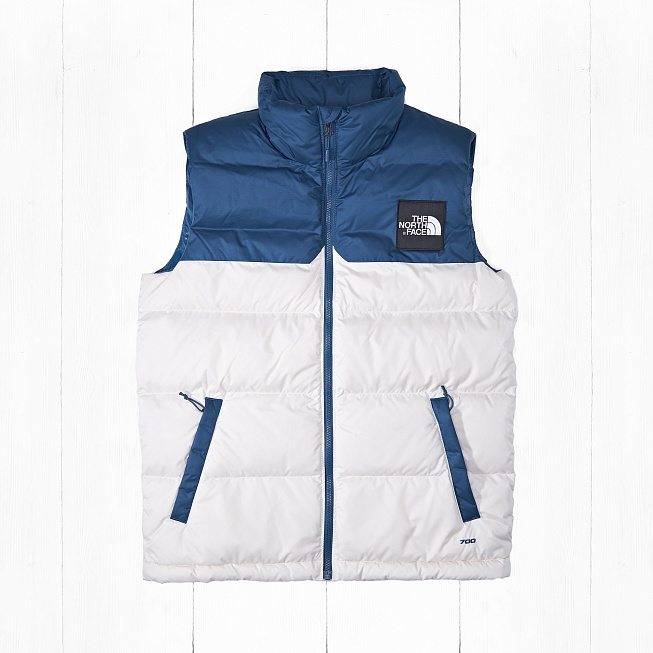 Жилет The North Face M 1992 NUPTSE VEST Blue/Vintage White