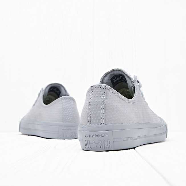 Кеды Converse CHUCK TAYLOR ALL STAR II Plimsolls In Grey  - Фото 2