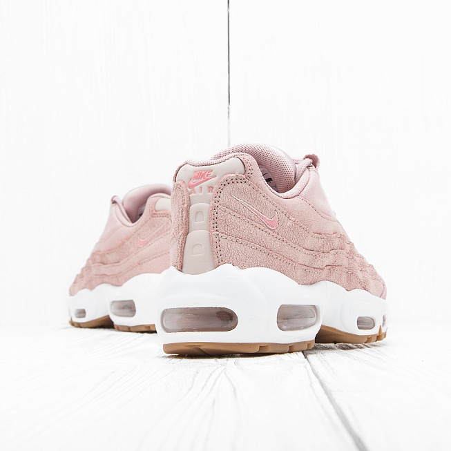 Кроссовки Nike W AIR MAX 95 PRM Pink Oxford/Pink Oxford-Bright - Фото 2
