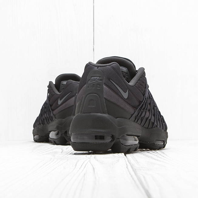 Кроссовки Nike AIR MAX 95 ULTRA SE Black/Dark Grey/Black/Anthracite - Фото 2