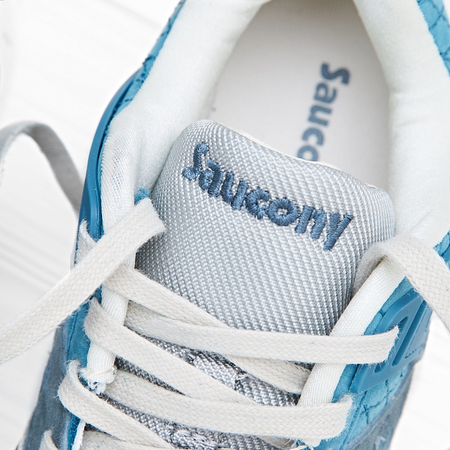 Кроссовки Saucony GRID SD Quilted Blue/Grey - Фото 5