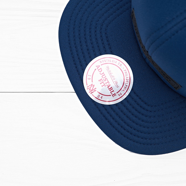 Снепбек Mitchell & Ness OWN BRAND Neoprene Navy - Фото 3