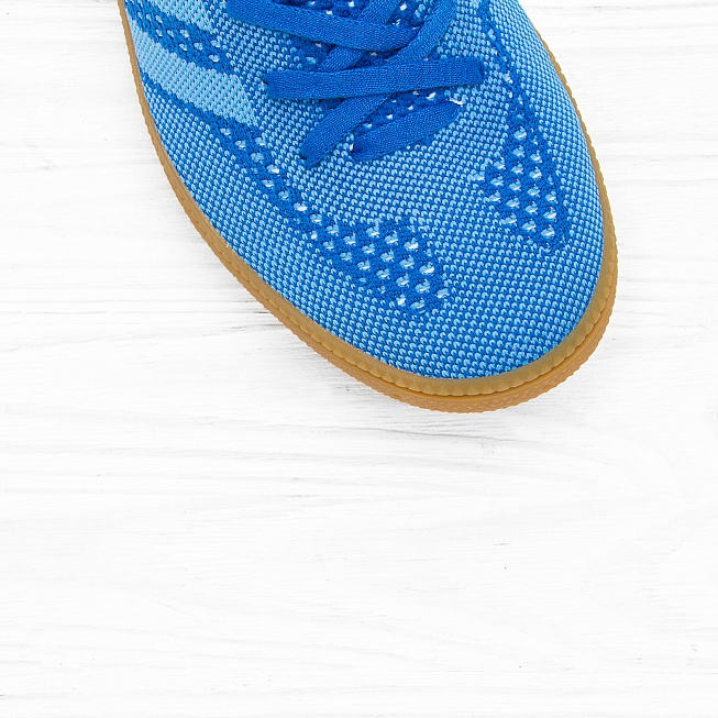 Кроссовки Adidas VERY SPEZIAL PRIMEKNIT Blue/Light Blue/Running White - Фото 4