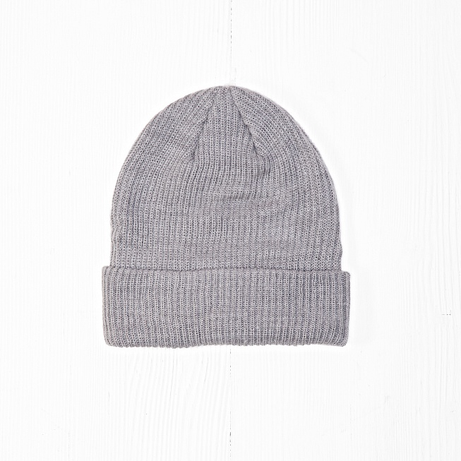 Шапка Nike SB FISHERMAN BEANIE Heather Grey - Фото 3