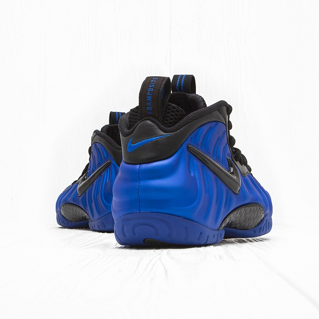 Кроссовки Nike AIR FOAMPOSITE PRO Hyper Cobalt/Black - Фото 2