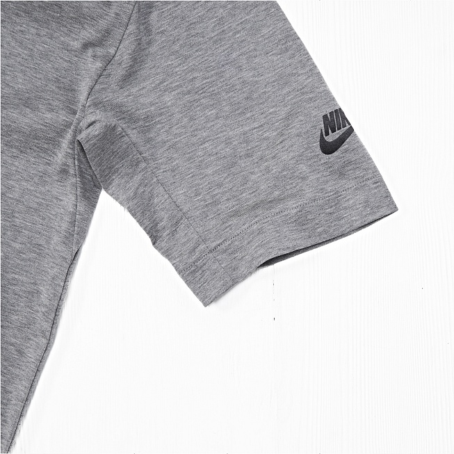 Футболка Nike MODERN TOP SS KNT Grey - Фото 3