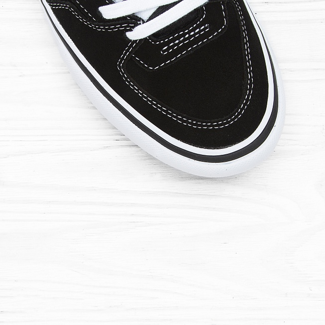 Кеды Vans HALF CAB PRO Black/White-Red - Фото 4