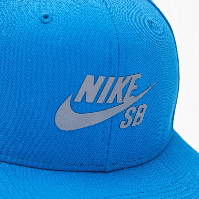 Снепбек Nike SB REFLECT ICON ADJUSTABLE HAT Blue - Фото 1